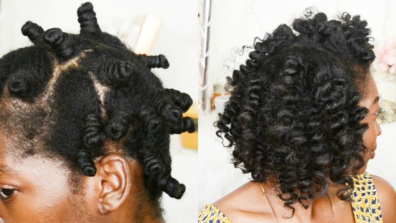 How To Do Heatless Curls Overnight The Perfect Bantu Knot Out