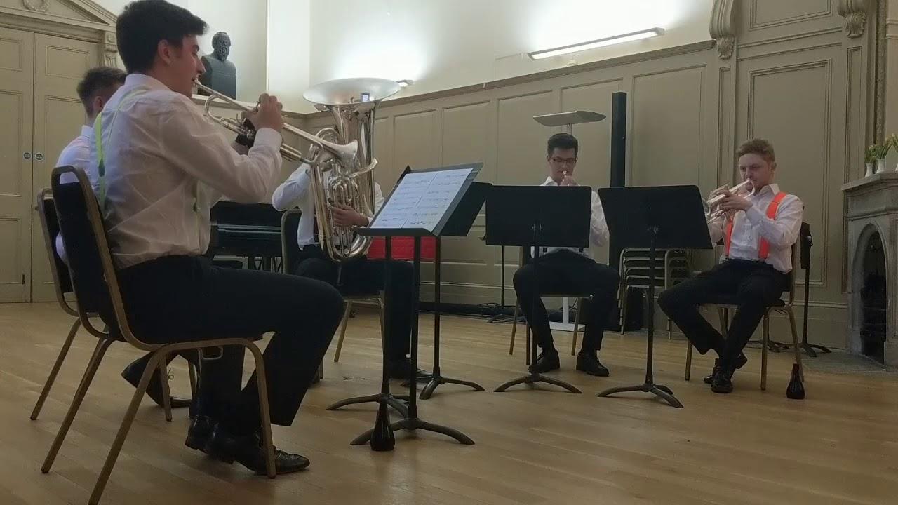 Bach's Fugue in G minor BWV 578 - Big Smoke Brass - UK