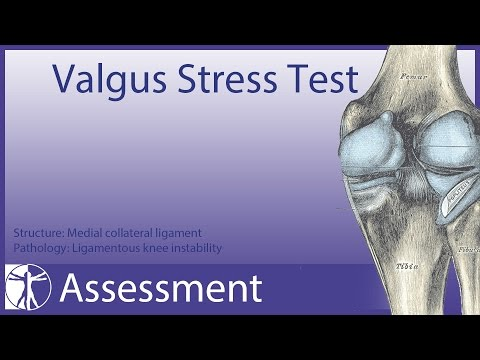 Valgus Stress Test | Medial Collateral Ligament