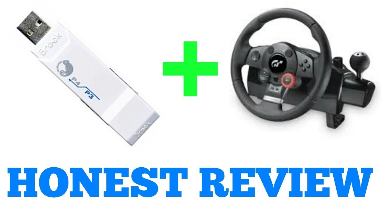 Brook Super Converter (PS3 to PS4) REVIEW Nov 2017 Using Logitech Driving  Force GT Steering Wheel by PLAY RACING GAMES