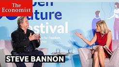 Steve Bannon debate at The Economist #OpenFutures festival | The Economist