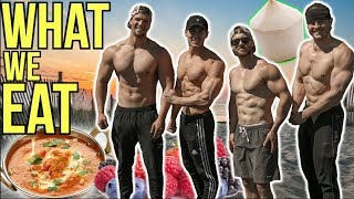 What 4 Vegan Bodybuilders Eat & Train ft.  Nimai, Derek & Brian
