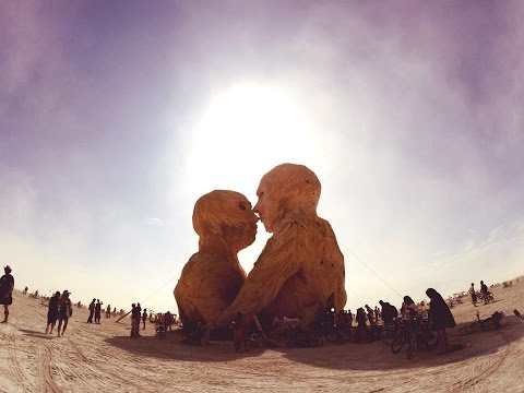 Chus & Ceballos at Burning Man 2014 | Magic in the dust!