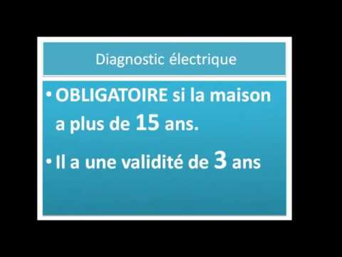Le diagnostic lectrique diagnostics immobiliers youtube - Diagnostic electrique obligatoire ...