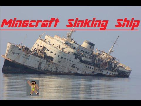 minecraft boat sinks