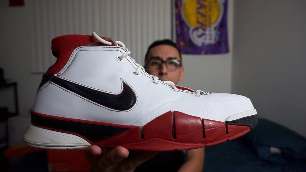 the latest 2d430 ef664 NIKE ZOOM KOBE 1 ALL-STAR EDITION 2005 THROWBACK REVIEW