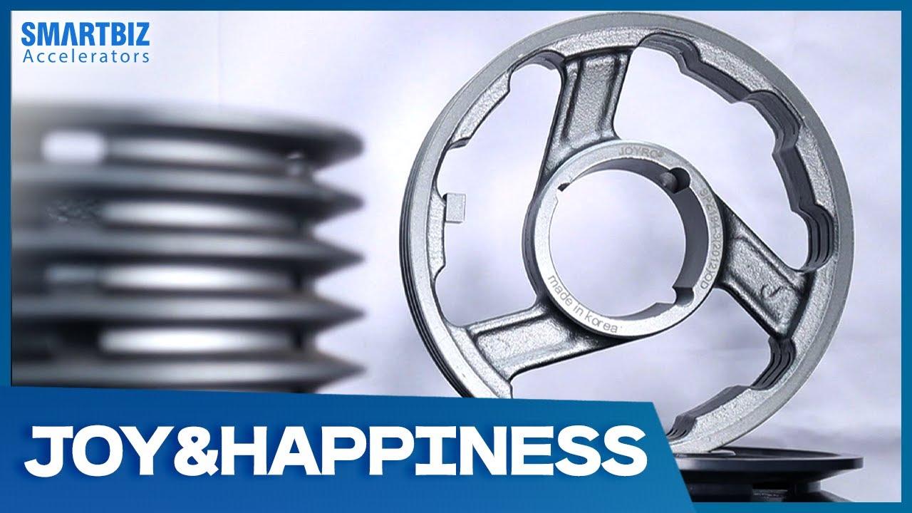 [SmartBiz Accelerators] JOY&HAPPINESS, a provider of industrial machine equipment