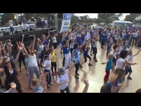 Celebrate Israel Festival 2016 Flashmob   Israeli American Council Los Angeles IAC