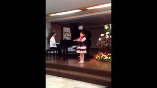 """Long, Long Ago"" by Bayly (violin recital of Macy)"