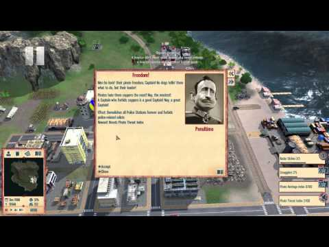 Tropico 4 Extra Missions - Pirate Haven - Playthrough Part 30 |