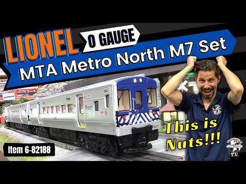 Lionel 6-82188 MTA Metro North M-7 Lionchief Starter Set