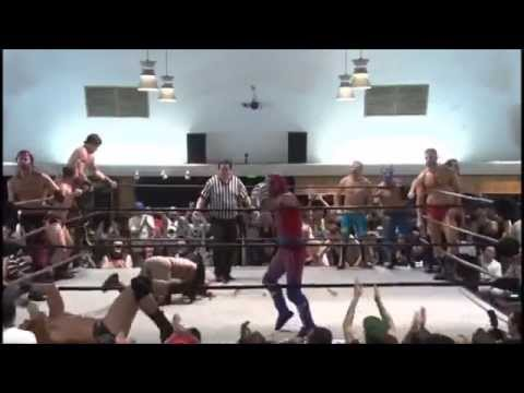 df7b5aa4810ac Funny PWG high spots moment at BOLA 2015 - YouTube
