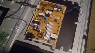 Samsung Lightning or power outage surge TV fix/ troubleshoot.