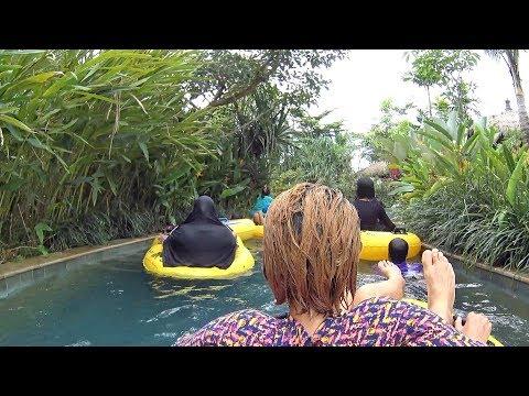 Lazy River at Jogja Bay Waterpark
