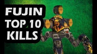 War Robots -  Fujin Top 10 killers Attack | op 10