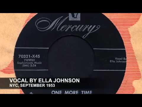 BUDDY JOHNSON - ONE MORE TIME