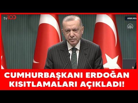 Cumhurbaşkanı Erdoğan Ek Tedbirleri Açıkladı