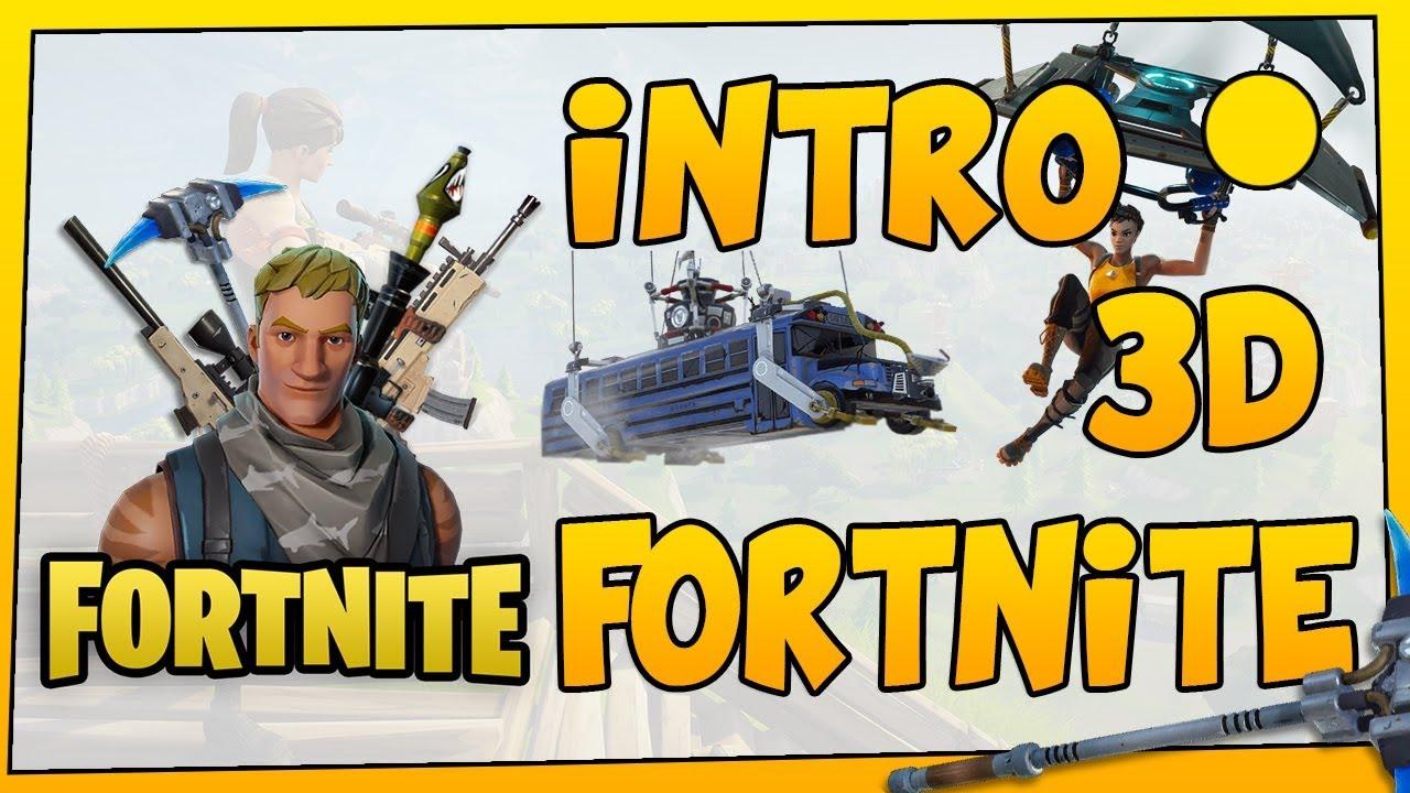 Intro D Fortnite Template