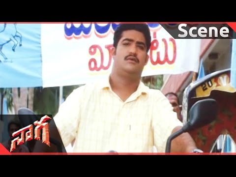 Naaga Movie || Jr.NTR & Rajiv Kanakala...