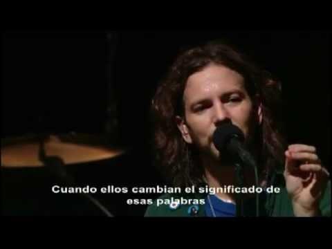 Pearl Jam - Alive (Storytellers)