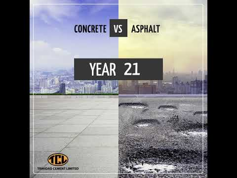 Concrete VS Asphalt