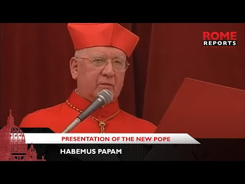 Habemus Papam: When Cardinal Medina introduced the new Pope