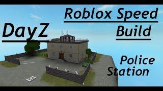 ROBLOX STUDIO SPEED BUILD / Stazione di polizia Parte 2 / Dayz