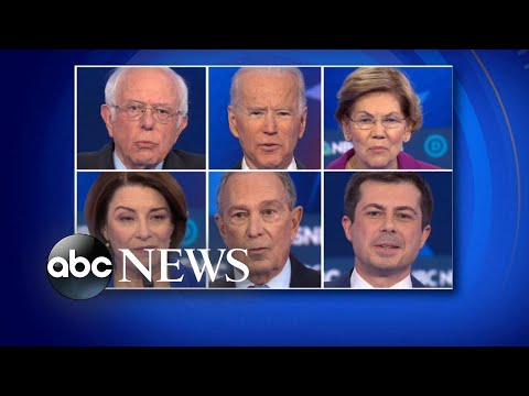 Democratic Candidates Facing 3rd Contest In Nevada | ABC News