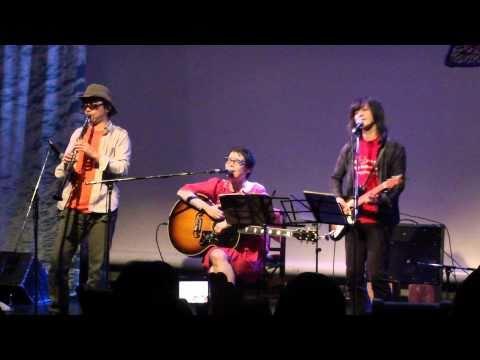 『満月の夕』 うつみようこ+河村博司+大熊ワタル@PEACE CARNIVAL 2010