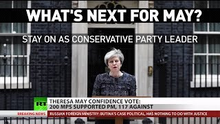 Theresa May Lives To Fight Another Day