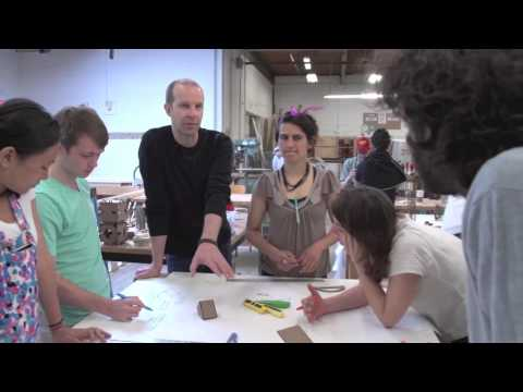 IDEO + Brown/RISD Furniture Design Workshop