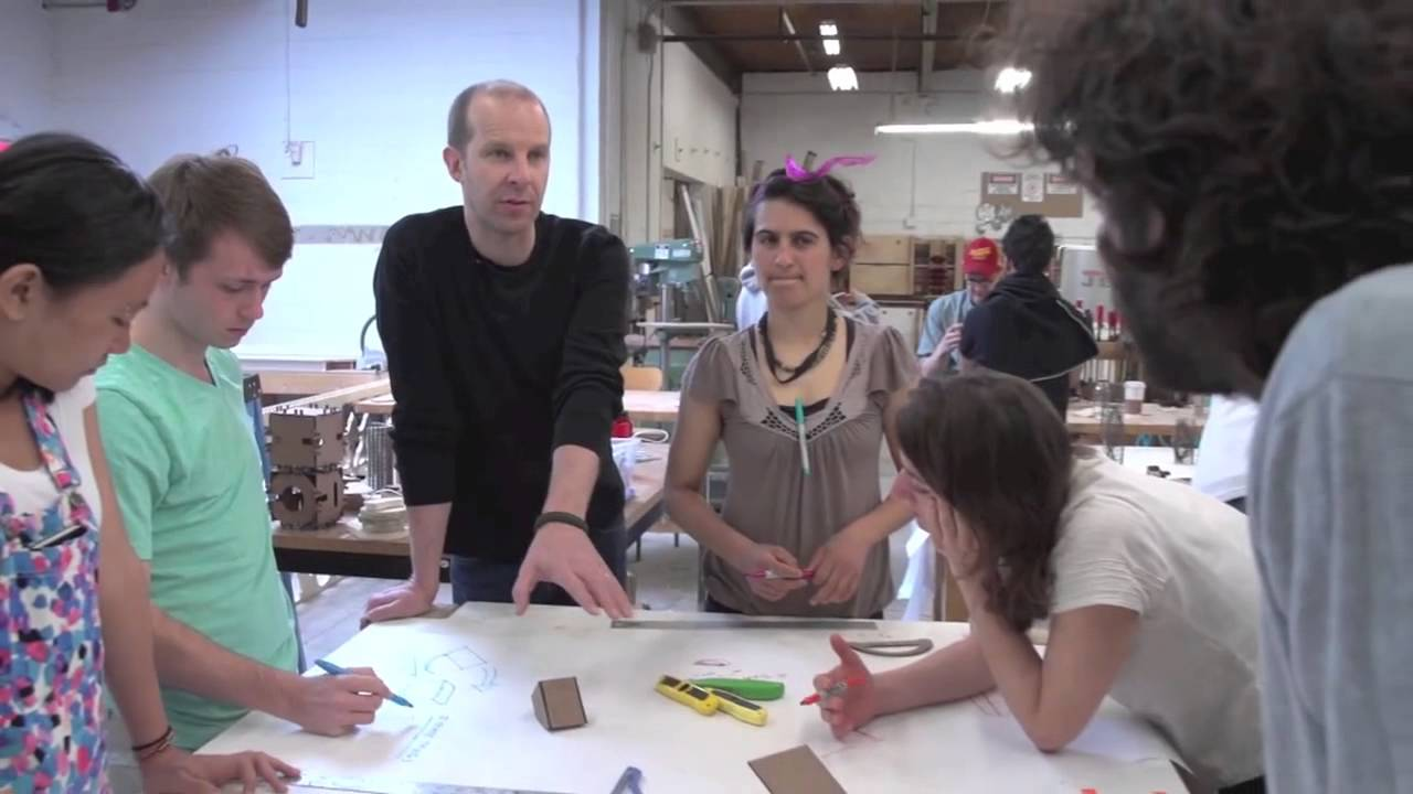 Ideo brown risd furniture design workshop youtube for Ideo university
