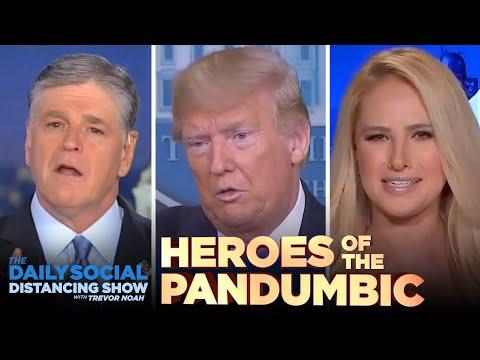 Saluting the Heroes of the Coronavirus Pandumbic | The Daily Show