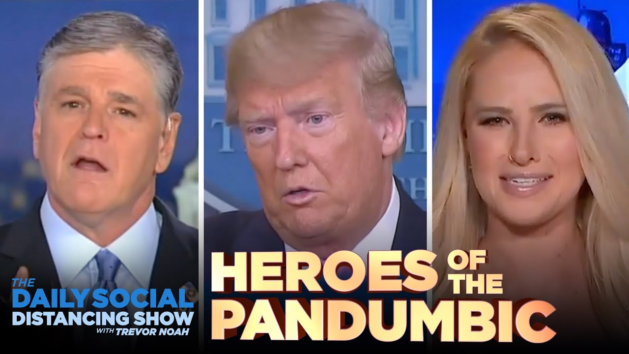 Saluting the Heroes of the Coronavirus Pandumbic | The Daily Show