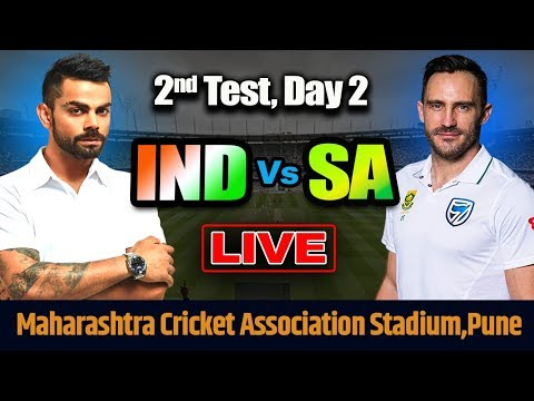 LIVE: INDIA Vs SOUTH AFRICA 2nd TEST, DAY 2 | LIVE SCORES AND COMMENTARY |