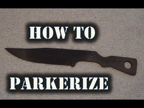How To Parkerize Metal