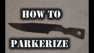 How To Parkerize Metal - Sharp Works