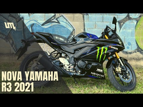 NOVA YAMAHA R3 2021: moto boa pra começar?