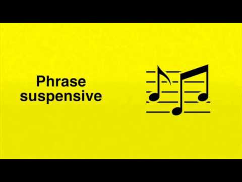 Phrases suspensives et phrases conclusives