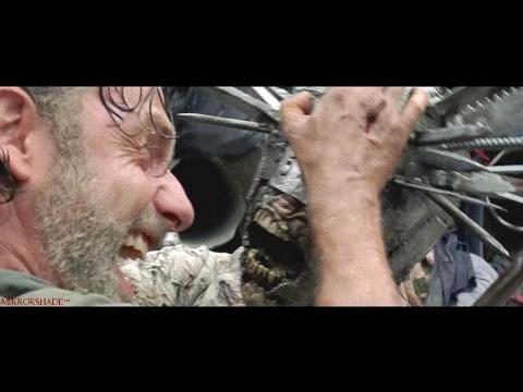 The Walking Dead || (7x10) ''Rick vs the armored walker (Winslow)''