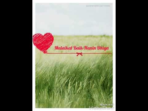 Lirik lagu Malaikat Baik-Hanin Dhiya
