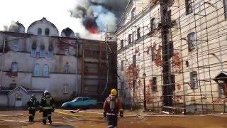Пожар в гостинице на острове Валаам 1 мая 2016 года(Видео с сайта МЧС России. Подробности ..., 2016-05-01T14:48:15.000Z)