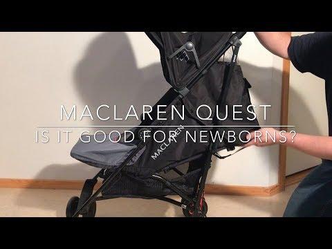 Concerns Over Using A Maclaren For Newborns