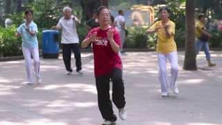 жизнь в Китае, парки в Китае, долголетие в Китае, секрет долголетия