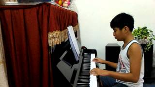 The garden piano cover by Nhan