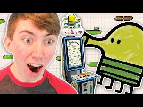 DOODLE JUMP ARCADE (Arcade Gameplay Video)