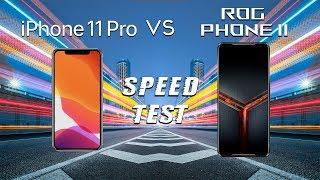 iPhone 11 Pro vs Asus Rog Phone 2 SPEED TEST