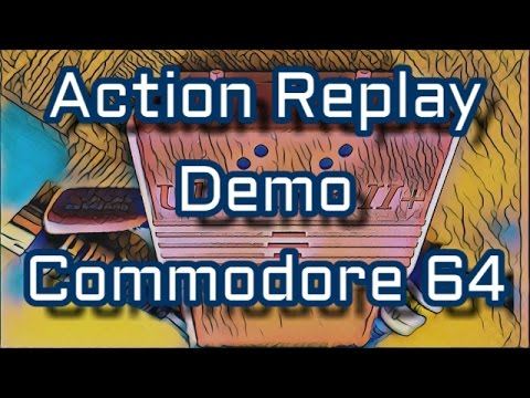 Action Replay On C64, CCS64 and Vice Emulators