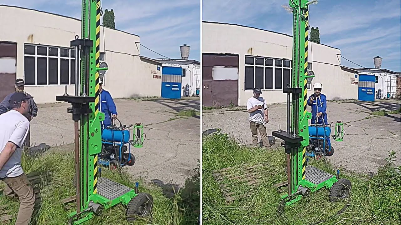 Dynamic probing and soil investigation rigs youtube for Soil investigation