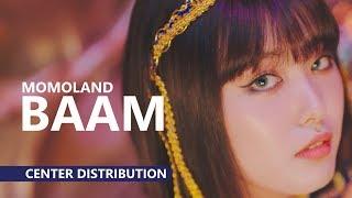 MOMOLAND 모모랜드 - BAAM 배앰 | Center Distribution